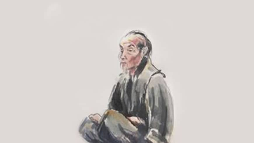 Jinshen Old Man Drawing